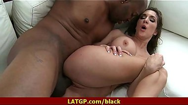 Black cock in MILFs tight wet pussy 16