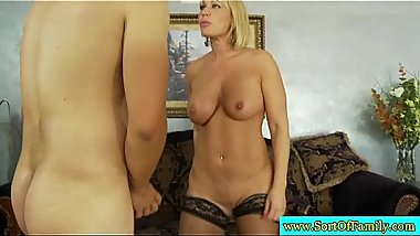MILF and step daughter get fucked