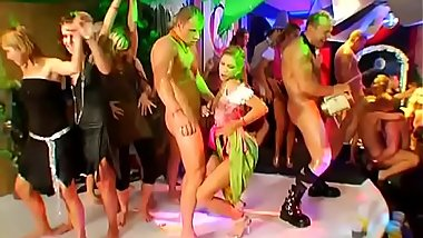 Bold and wild group pleasuring for a nice-looking gal and hunk