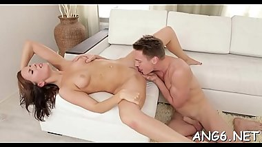 Babe is enchanting studs desires with wild penis riding