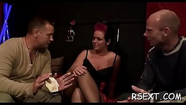 Horny hooker gives a hot oral-service and jerks off to finish