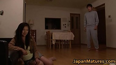 Chisa Kirishima Asian MILF gives amazing